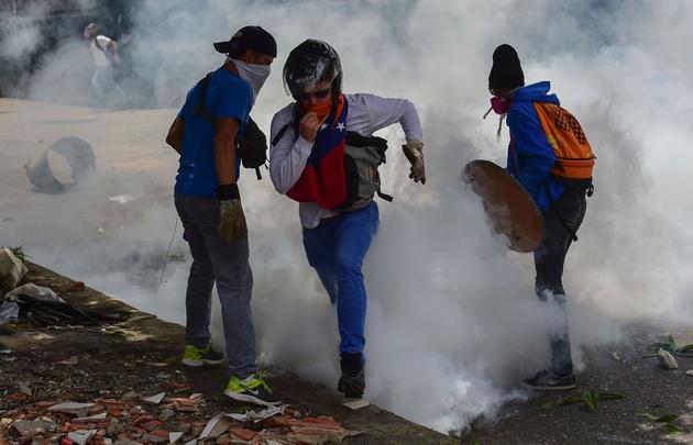 Las marchas en Venezuela ya dejaron tres muertos.