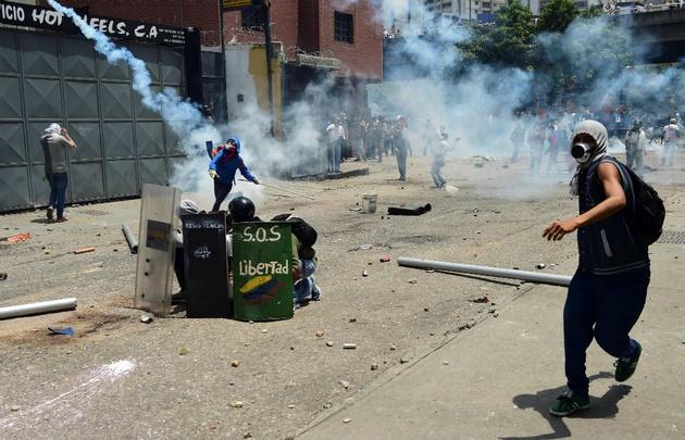 La crisis en Venezuela generó protestas que derivaron en muertos y heridos.