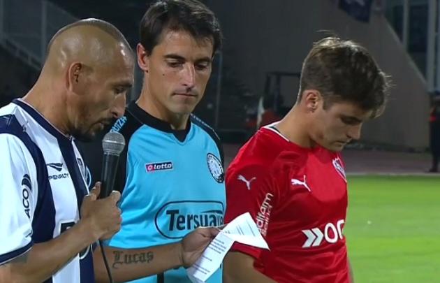 Emotivo mensaje de los capitanes de Talleres, Belgrano e Independiente.