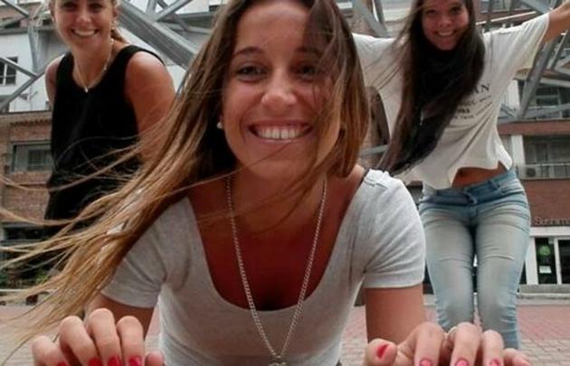 Noelia Arancibia, la jugadora de hockey que debe ser internada.