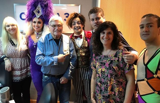 Figuras del Circo Tihany visitaron Viva la Radio.