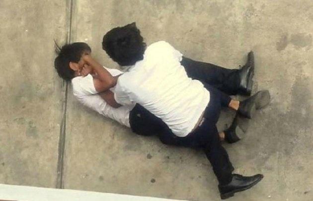 Los alumnos se pelearon en el colegio (Foto ilustrativa)