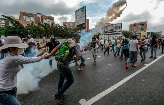 En los últimos acontecimientos de Venezuela han muerto 11 personas.
