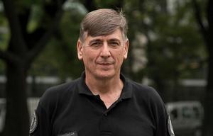 José Pedro Potocar, jefe de la Policía de la  Ciudad.