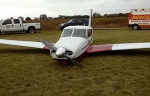 El piloto se descompensó manejando la aeronave (Foto: Resumen de la Región)