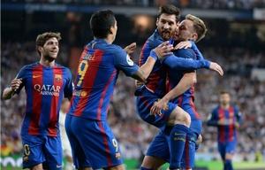 Con un Messi enorme, Barcelona silenció al Bernabeu y venció al Real Madrid.
