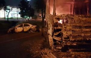Detonaron cinco bombas en la bóveda de Prosegur.