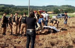 La policía brasileña cooperó con los oficiales paraguayos en la captura.