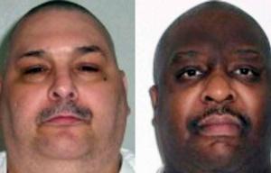 Jack Jones y Marcel Williams, los dos reos ejecutados.