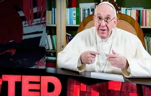 El Papa participó de una charla TED en Canadá.