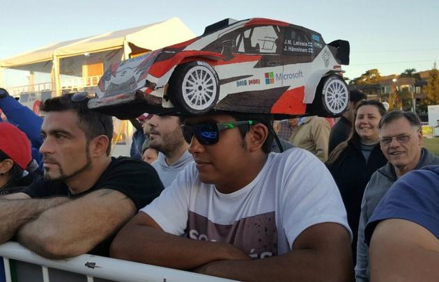 Pasión fierrera por Toyota en Carlos Paz.