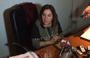 La reunión de los padres con María Cecilia Velázquez no produjo avances.