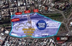 Mapa de cortes. Súper Especial de Córdoba. Zona del Panal.