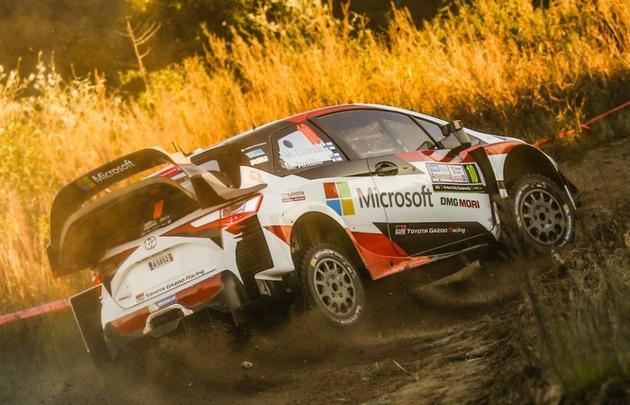 Latvala, el más rápido en el Shakedown (Foto: Rally Argentina)