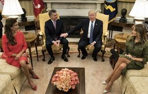 Trump y Macri en la Casa Blanca