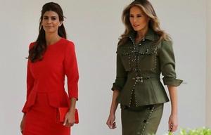 Las primeras damas se midieron en belleza y estilo.