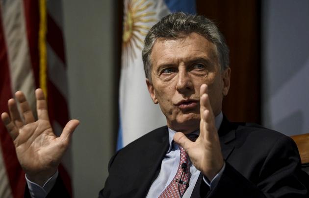 El presidente Macri valoró el apoyo de Estados Unidos a Argentina.