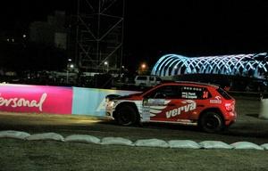 Los pilotos del Rally hicieron vibrar a la multitud en el Panal.
