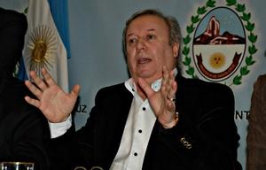 Daniel Peralta, ex gobernador de Santa Cruz.