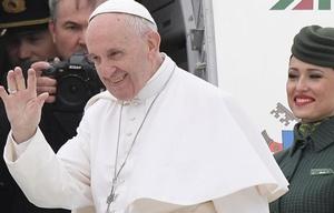El Papa Francisco llegó a Egipto.