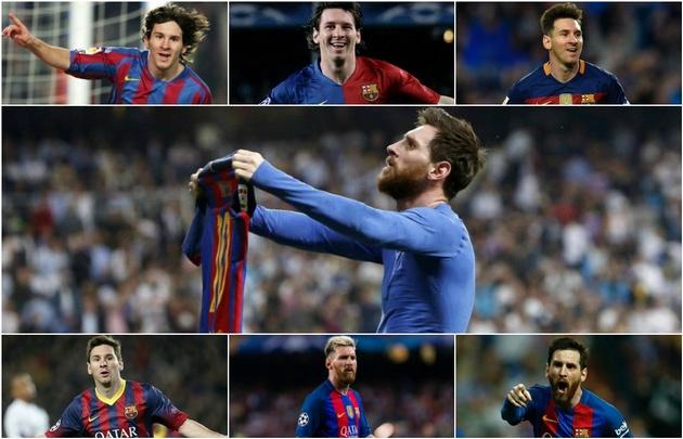 Lionel Messi marcó, hasta el momento, 502 goles con la camiseta de Barcelona.
