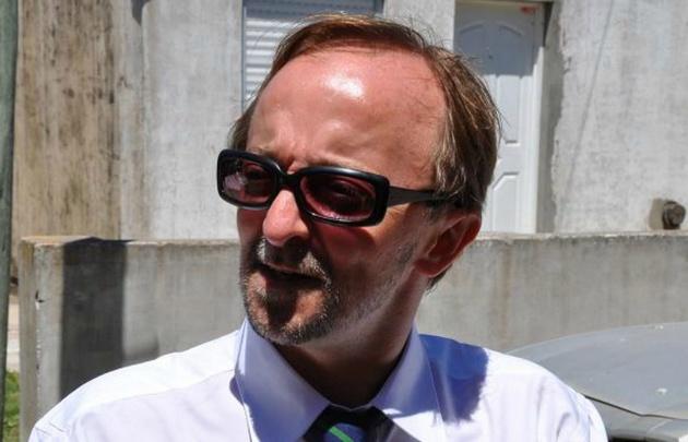 El fiscal Cartasegna se retiró esta mañana del hospital Italiano.
