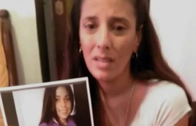 Anabel, la madre de Yasmín y un desesperado pedido.