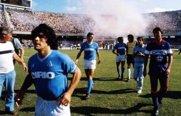 A 30 años de la histórica consagración del Napoli de la mano de Maradona.