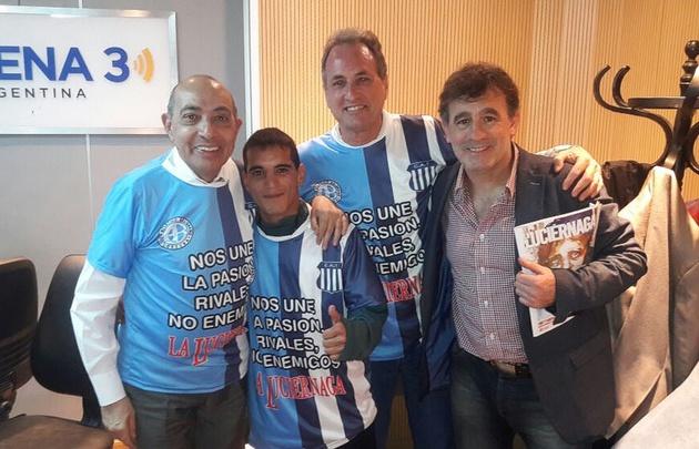 La Luciérnaga se prende a la campaña anti violencia en los clásicos de fútbol.