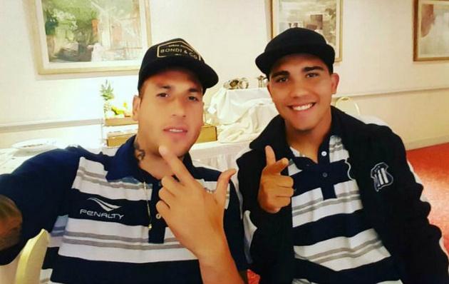 """El enganche de la """"T"""", Emanuel Reynoso (derecha), no fue indagado."""