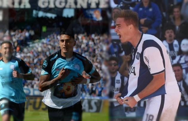 Suárez y Rescaldani marcaron los goles del clásico.