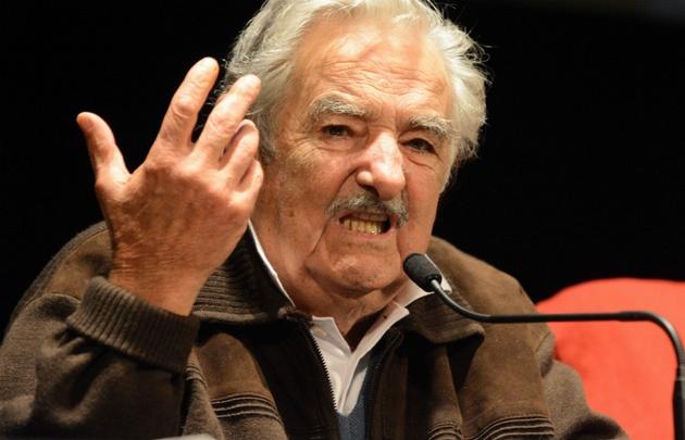 """""""Pepe"""" Mujica visitó varias ciudades argentinas."""
