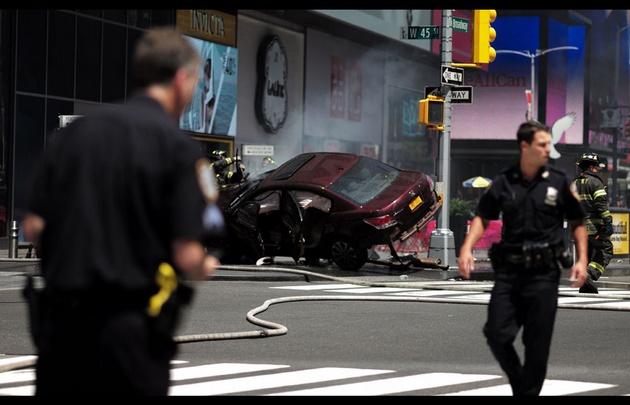 Accidente en Manhattan