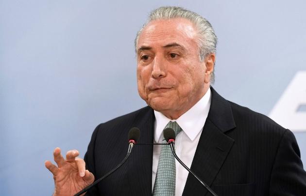 Michel Temer dijo que no renunciará a la presidencia de Brasil.