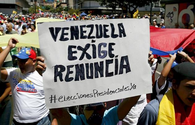 Marcha contra Maduro