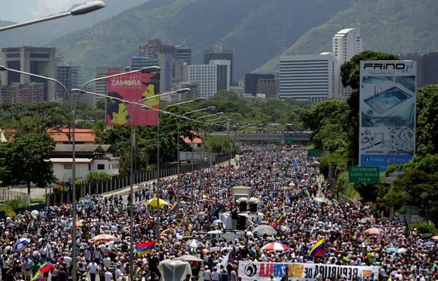 Venezuela volvió a movilizarse este sábado.