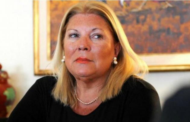 Carrió pidió que se sepa quiénes recibían las coimas de la constructora Odebrecht.