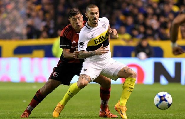 Boca venció a Newell's en La Bombonera.