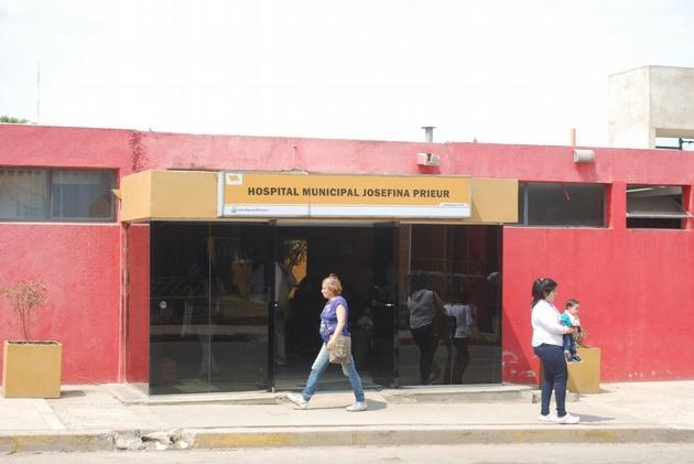 Las mujeres fueron trasladadas hasta el Hospital Municipal Josefina Prieur.