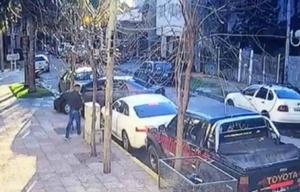 Las cámaras captaron el momento del secuestro.
