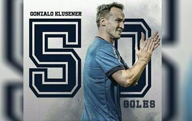 Klusener se metió en el corazón de los hinchas de Talleres.