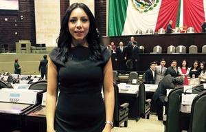 Yulma Rocha, diputada del PRI mexicano.