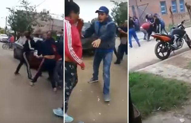 Batalla campal en un colegio primario de González Catán.