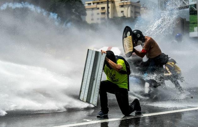 Venezuela vivió una nueva jornada de manifestaciones y tensión.
