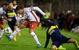 Huracán y Boca empataron 1-1 en un final infartante.