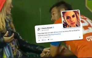 Chechu Bonelli explotó en Twitter por un gesto.