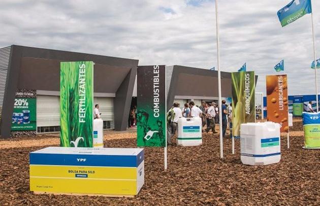 YPF canjeó en Expoagro 2017 más de 500 mil toneladas de granos.