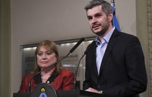 Peña apuntó contra Gils Carbó.