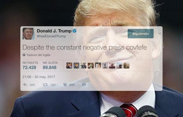 El tuit de Donald Trump.