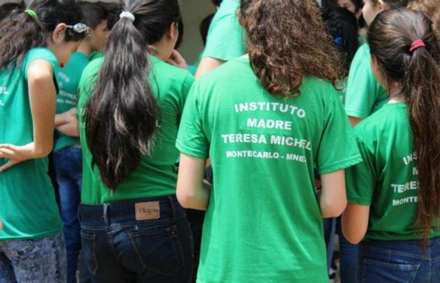 Instituto Madre Teresa Michel de Montecarlo (Foto: misionesonline).